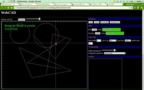 Web cad free alternative to autocad based on html 5 Online cad editor