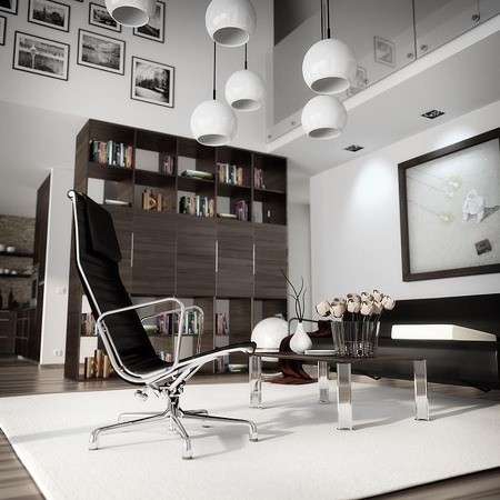 Interior render Blender Cycles for Architecture